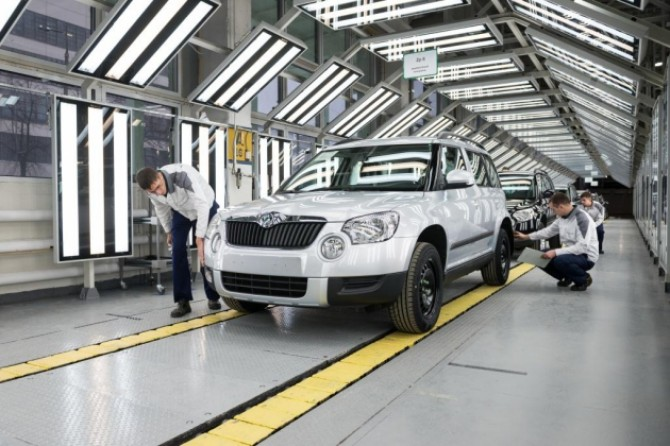 ŠKODA Yeti production started in Nizhniy Novgorod (2).jpg