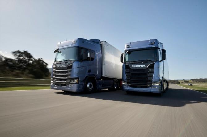 Scania презентовала новый модельный ряд фургонов