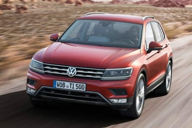 Volkswagen Tiguan нового поколения