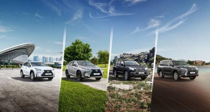 Вначале осени цены нанекоторые модели авто Лексус будут снижены