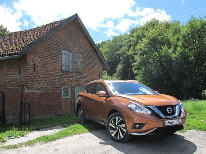 Продажи нового Nissan Murano стартуют 3 сентября