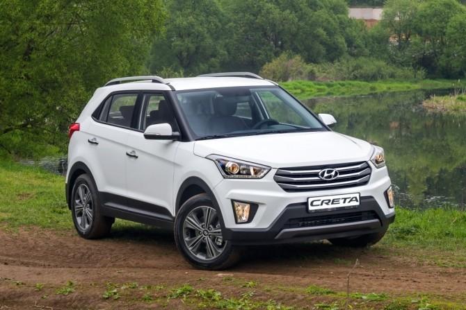 Кроссовер Hyundai Creta подорожал на 10 тыс. рублей почти во всех комплектациях