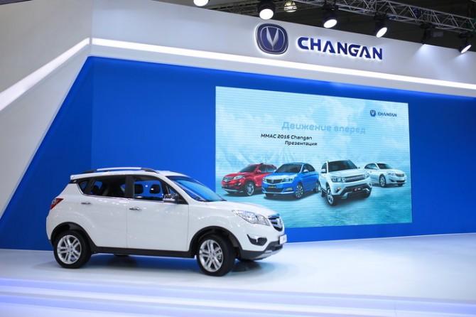 Changan планирует выпустить неменее тысячи кроссоверов CS35 в Российской Федерации доконца года