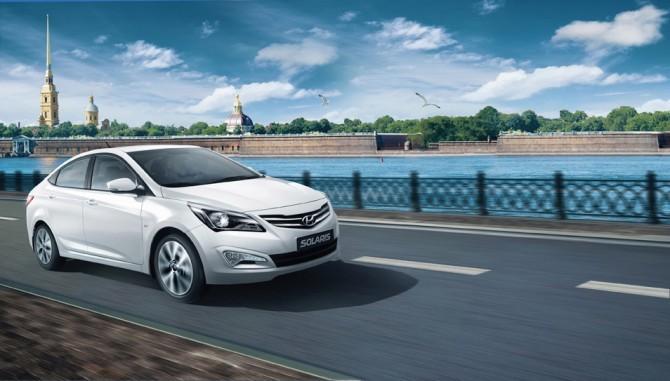 Рынок новых легковых автомобилей в Петербурге продолжает расти