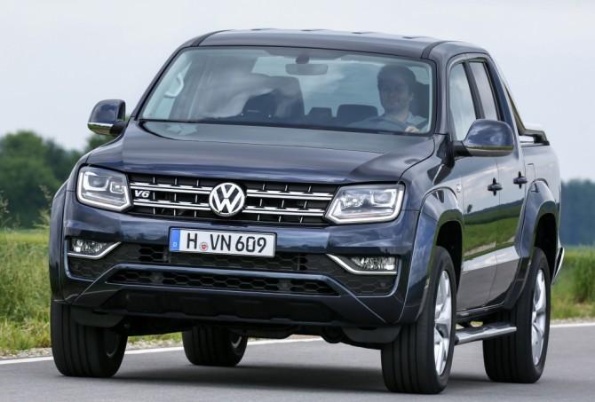 Объявлены цены нарестайлинговый VW Amarok