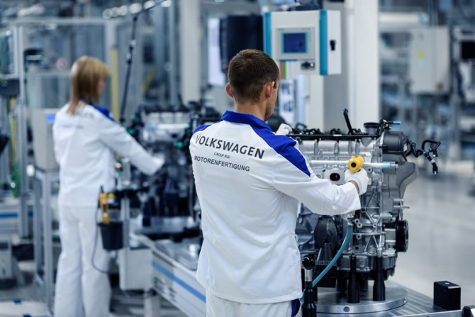 Volkswagen Group Rus Engine Plant in Kaluga