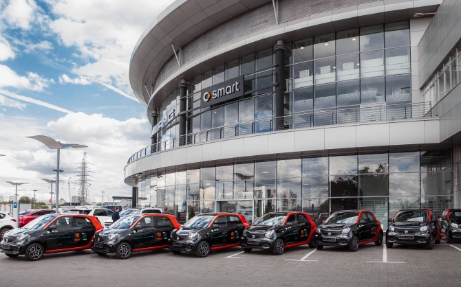 В российской столице каждый четвертый автомобиль продается корпоративному клиенту