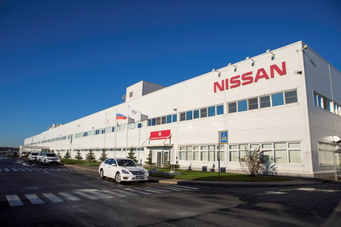 Nissan Russian plant