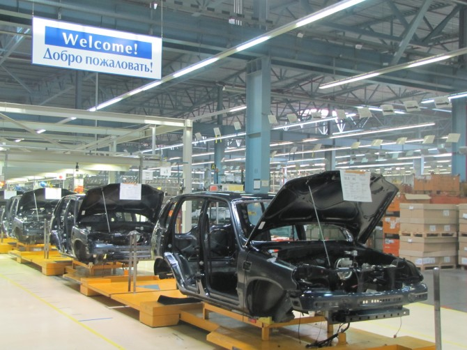 Производство наGM-Автоваз снизилось на10,72%