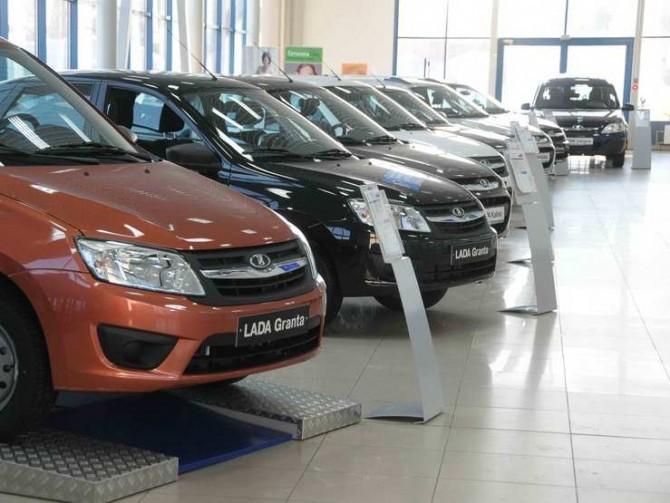 Снижение продаж новых машин прогнозируют в РФ