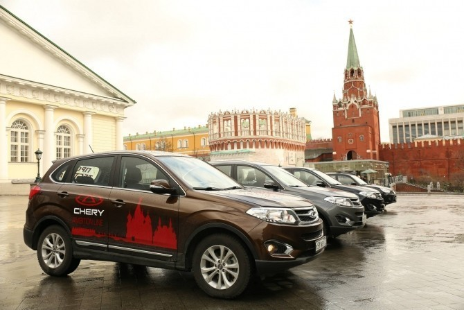 Продажи китайских авто в Российской Федерации падают третий месяц подряд