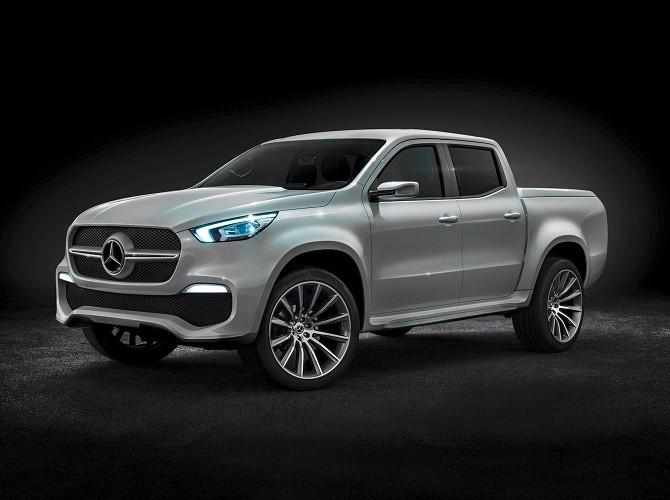 Пикап Mercedes Benz X-CLASS будут производить в Испании и Аргентине