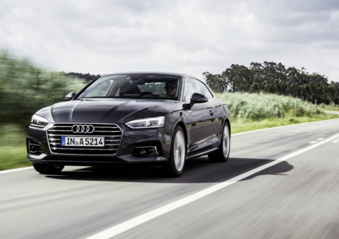 В РФ начались продажи Ауди A5 иS5 Coupe обновленного поколения