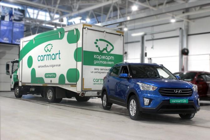 Carmart начал онлайн-продажи кроссовера Хюндай Creta