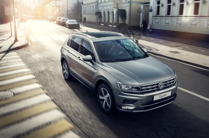 Концерн VW назвал цены нановый Tiguan дляРФ