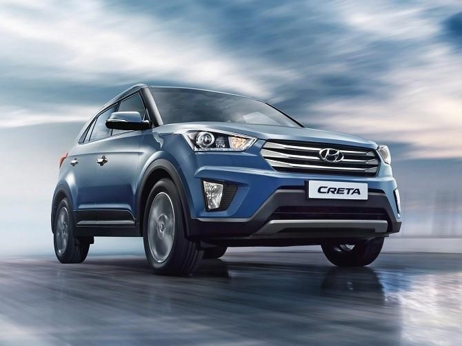 Hyundai Creta в ноябре вошла в тройку лидеров столичных рынков