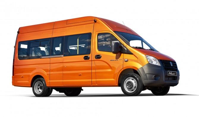 Новая пассажирская версия ГАЗель Next поступила напродажу