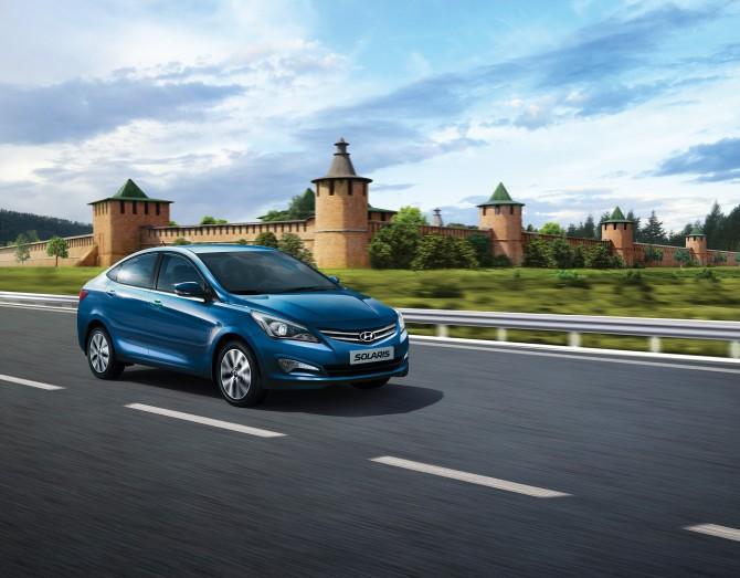 Hyundai Solaris в 2016 году стала самой продаваемой моделью в России