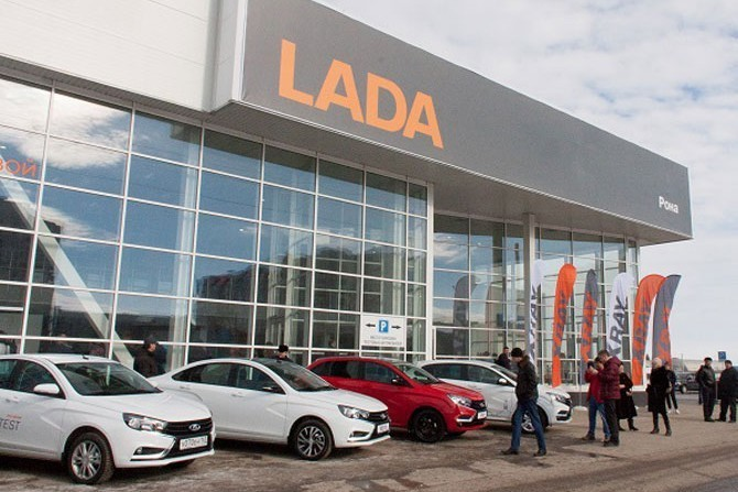 Продажи отечественных авто втечении следующего года показали рост