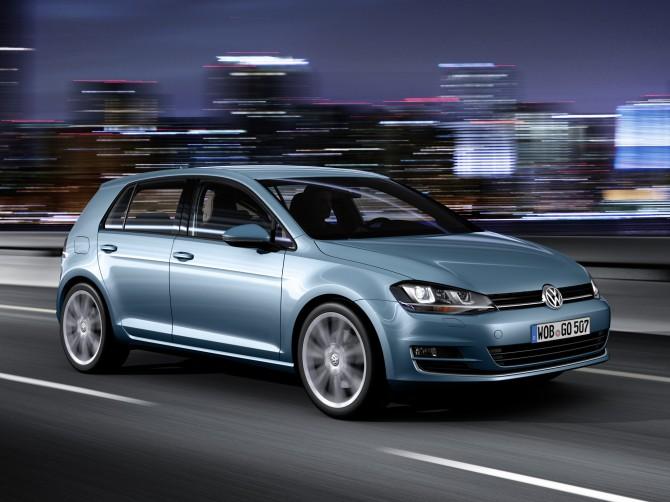 VW Golf остается европейским бестселлером 8-ой год подряд