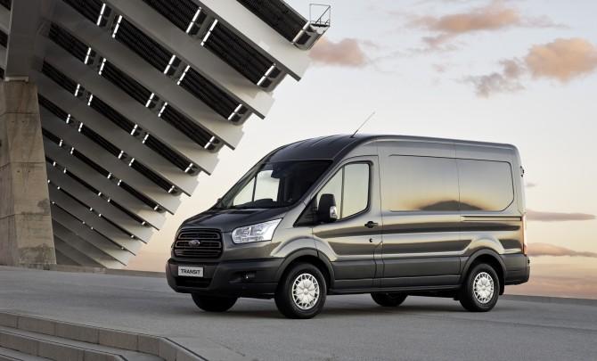 Форд  Transit стал лучшим попродажам всегменте LCV среди иномарок