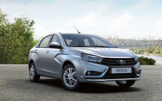 «АвтоВАЗ» назвал дату официальных продаж Лада Vesta вВенгрии иГермании