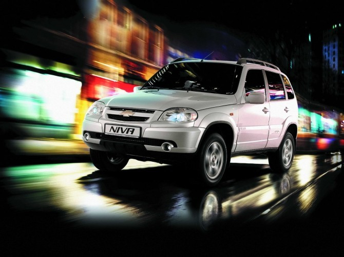 Продажи джипа Шевроле Niva заянварь увеличились на41%