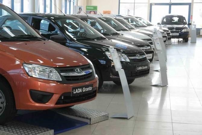 Доля продаж русских марок авто впервый раз за4 года превысила 20%