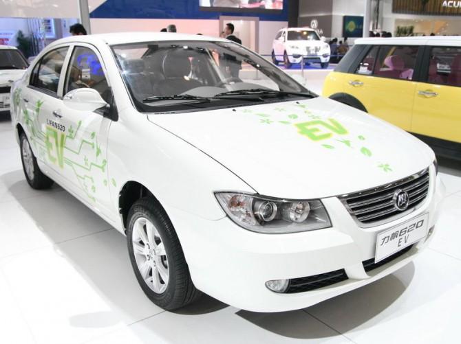 Лифан начнет сертификацию собственных электромобилей в РФ