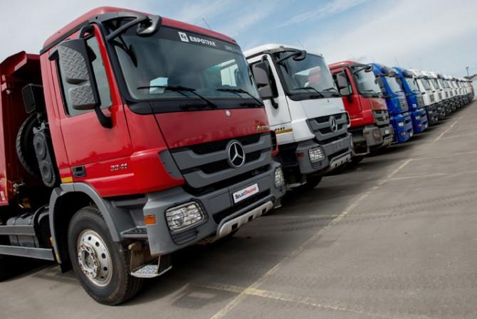На русском рынке возросли продажи фургонов Mercedes