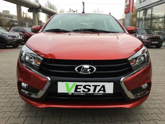 Продажи седана Лада Vesta стартуют нарынке Венгрии