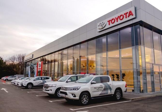 Продажи авто Тойота вкредит возросли загод вполтора раза