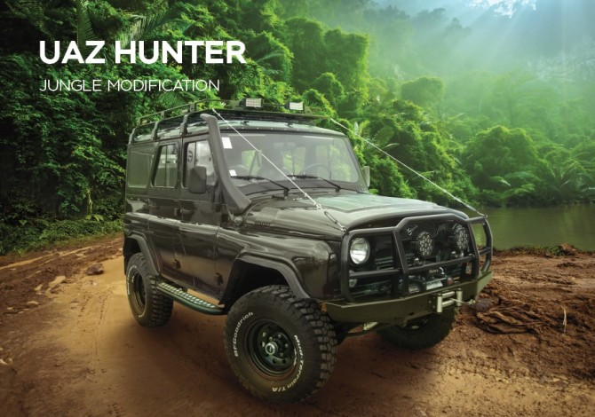 UAZ HUNTER export