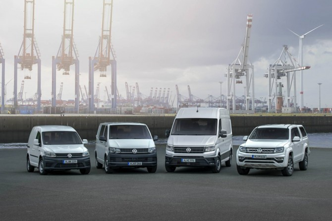 Volkswagen Commercial Vehicles Models