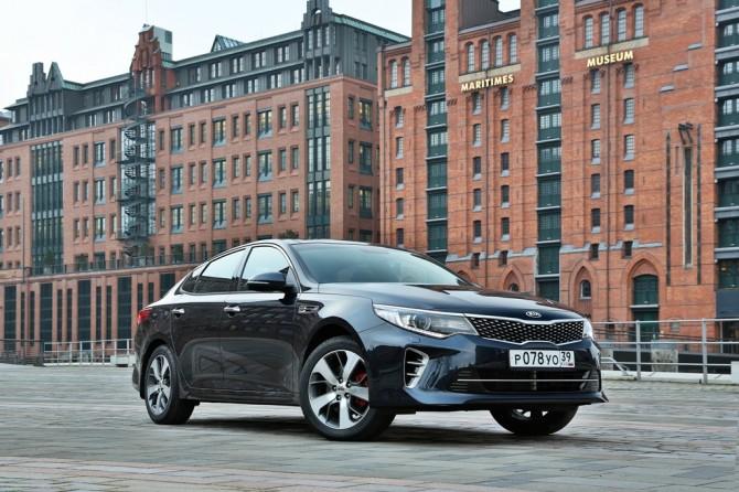 Автомобили Киа в Российской Федерации становятся корпоративными
