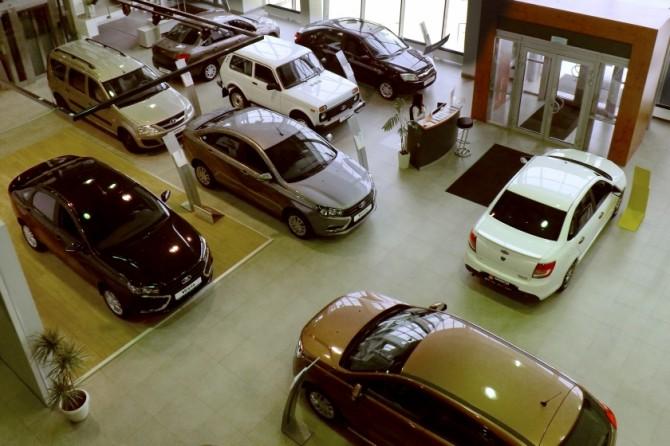 В Российской Федерации упали продажи авто