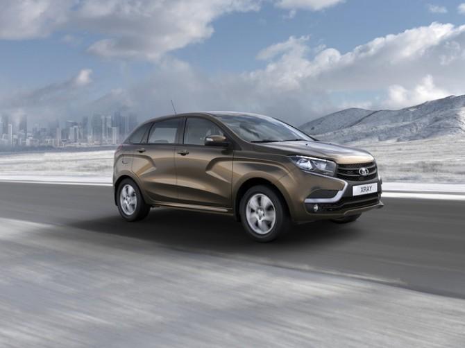 Лада Xray вошел вТОП-10 поупулярных авто в Российской Федерации