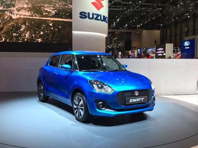 Новый Suzuki Swift может добраться до России в 2018 году