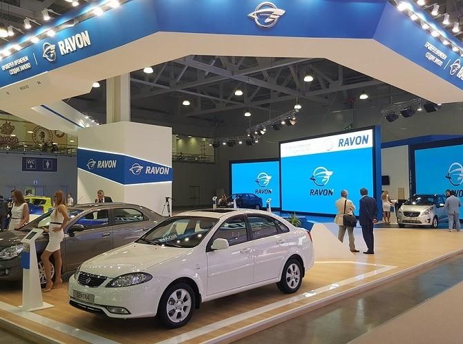 Ravon планирует в нынешнем 2017г. увеличить продажи в РФ в25 раз