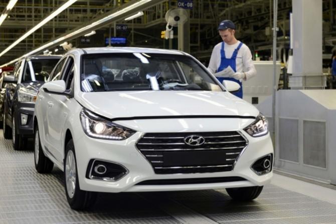 Петербургский завод Hyundai в I квартале увеличил производство на 30%