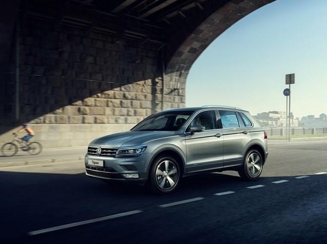 Volkswagen Tiguan получил в России 150-сильный двигатель