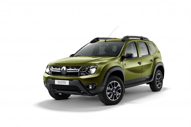 Рено представила обновленную лимитированную серию Duster Dakar
