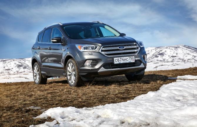 В России выпущен 50-тысячный кроссовер Ford Kuga