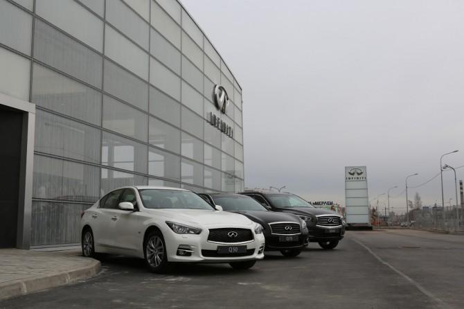 Объем продаж авто Инфинити вРФ весной увеличился на1%