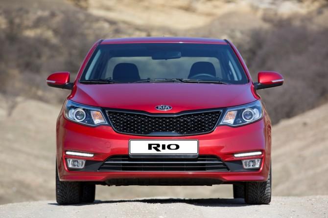 Кия Rio всередине весны сохранил звание самого известного авто в РФ