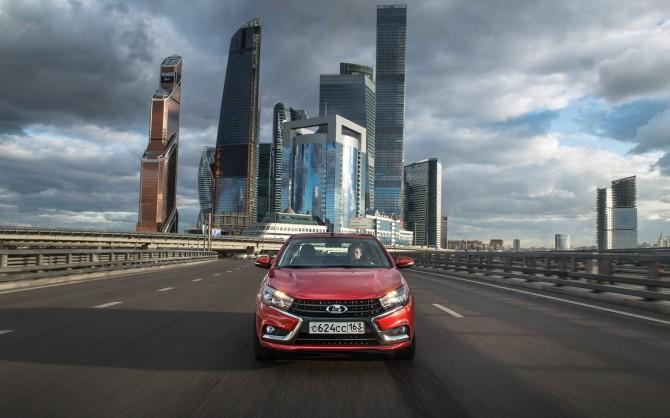 Lada Vesta и lada Xray станут Яндекс.Такси в70 регионах РФ