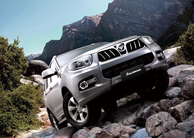 В Российской Федерации начались продажи автомобиля Foton Sauvana