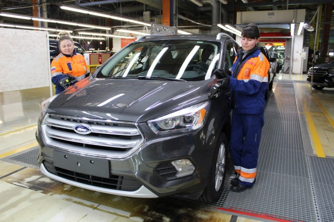 Ford Kuga conveyor