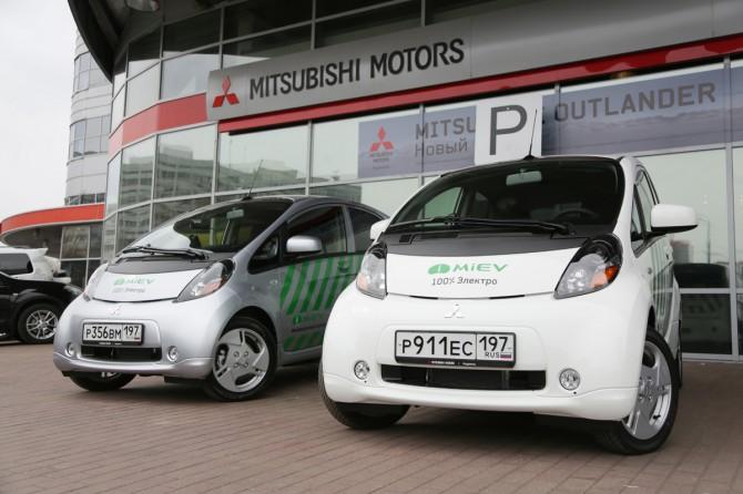 Мицубиши готова восстановить поставки электромобилей в РФ