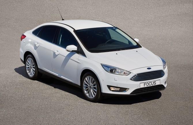Русский Форд Focus получил дополнительную защиту отгрязи